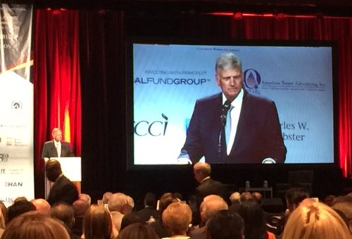Franklin Graham at Trump Meeting