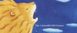"Aslan ROARING: ""Draw near!"""